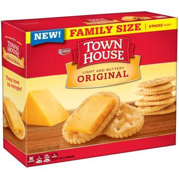 Keebler Town House Light Buttery Crackers Original