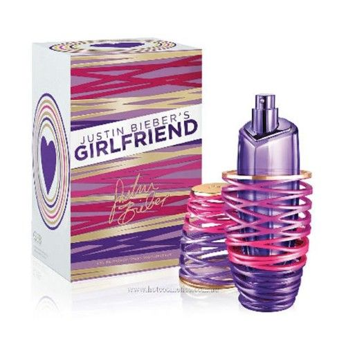 Girlfriend by Justin Beiber Eau De Parfum Spray 1.7 oz