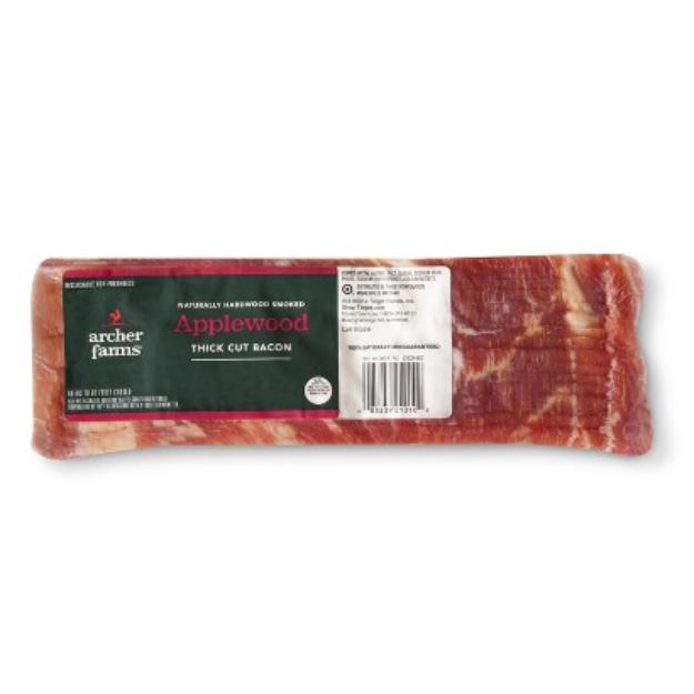 Archer Farms Thick Cut Applewood Bacon 24 oz