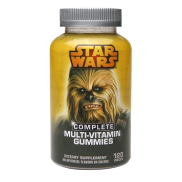 Star Wars Hero Multi-Vitamin Gummies - 120 Count