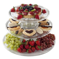 CreativeWare 3-Tiered Serving Tower