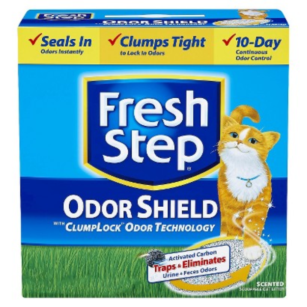 Fresh Step Premium Scoopable Clumping Cat Litter - 25 lb.