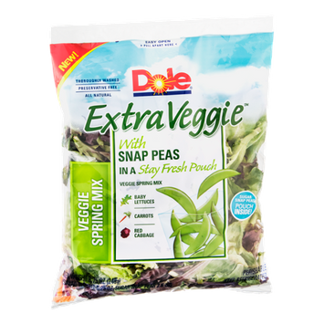 Dole Extra Veggie Veggie Spring Mix with Peas