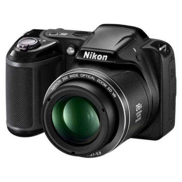Nikon Coolpix L330 20.2MP Digital Camera with 26X Optical Zoom - Black