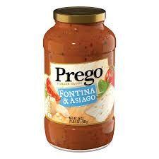 Prego® Italian Sauce Fontina & Asiago Cheese