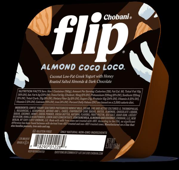 "Chobani® ""Flip""™ Almond Coco Loco™ Low-Fat Yogurt"