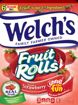 Welch's® Fruit Rolls White Grape Strawberry