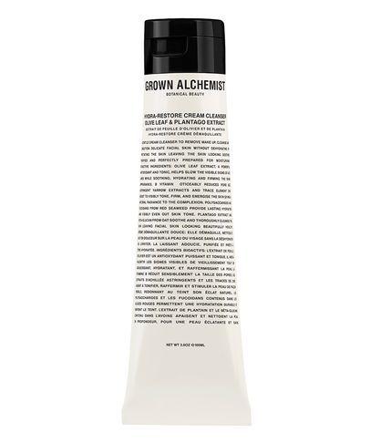 Grown Alchemist Hydra-Restore Cream Cleanser: Olive Leaf & Plantogo Extract, 100ml