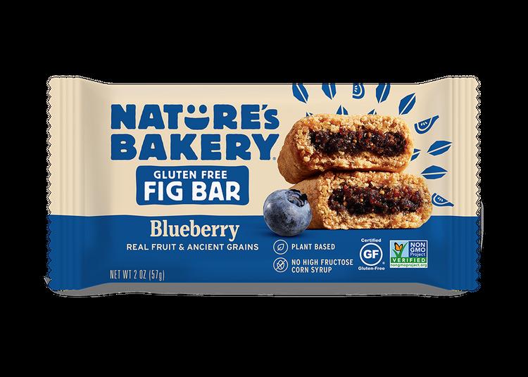 Nature's Bakery Gluten Free Fig Bars Blueberry