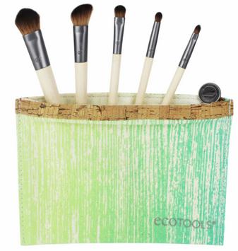 EcoTools ECOTOOLS BY ALICIA SILVERSTONE Brush Set and Bag