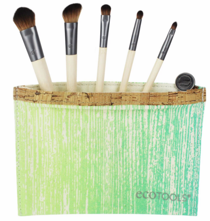 Slide: EcoTools ECOTOOLS BY ALICIA SILVERSTONE Brush Set and Bag