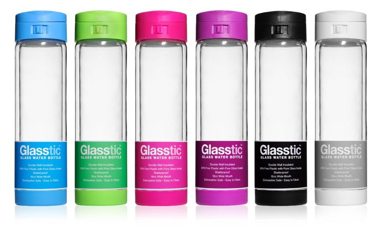 Glasstic® Water Bottles