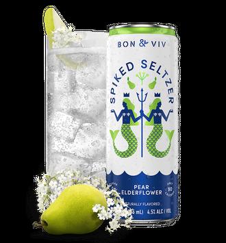 BON & VIV Spiked Seltzer Pear Elderflower