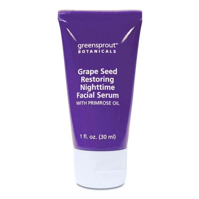 GreenSprout Botanicals Grape Seed Restoring Nighttime Facial Serum