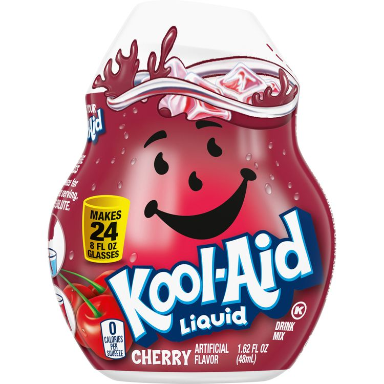 Kool-Aid Cherry Liquid Drink Mix, Caffeine Free