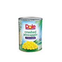 Dole Canned Crushed Pineapple in Heavy Syrup