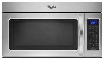 Whirlpool Microwave Hood Combination with 1,000-Watts Cooking Powerl 1.7 cu. ft.