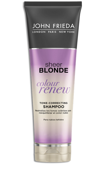 John Frieda Colour Renew Tone Correcting Shampoo Reviews 2021