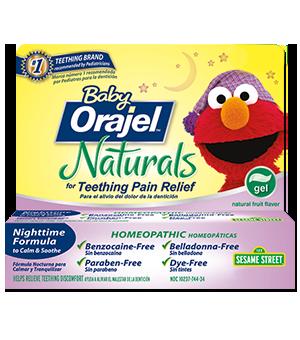 Baby Orajel™ Homeopathic Nighttime Teething Gel