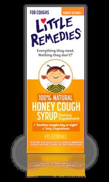 Little Remedies Honey Cough Syrup (4oz)