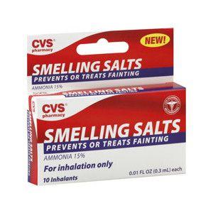 CVS Smelling Salts Inhalants