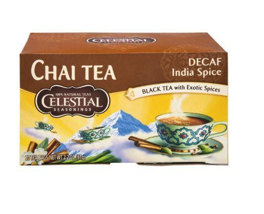 Celestial Seasonings® DECAF India Spice Chai Tea