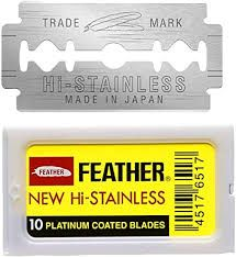 Wella Feather Blade Razor & 10 Blades