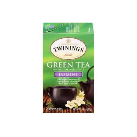 TWININGS® OF London Green Tea Jasmine Tea Bags