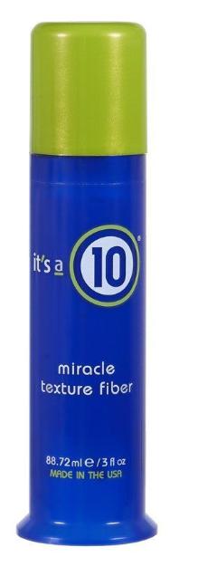 it's a 10 Miracle Texture Fiber
