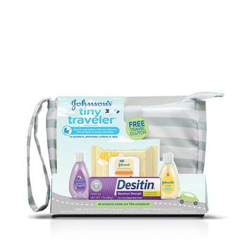 Johnson's Baby Tiny Traveler® Baby Gift Set