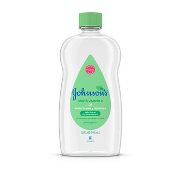Johnson's Baby Aloe & Vitamin E Oil