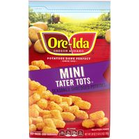 Ore-Ida Onion Mini Tater Tots, 28 oz Bag