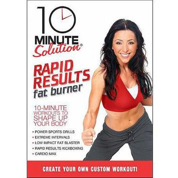 Anchor Bay/starz 10 Minute Solution: Rapid Results Fat Burner (DVD)