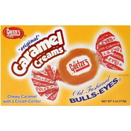 Goetze's Original Caramel Creams Bulls-Eyes Candy