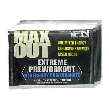iForce Nutrition Max Out Blueberry Pomegranate - 10 Packets