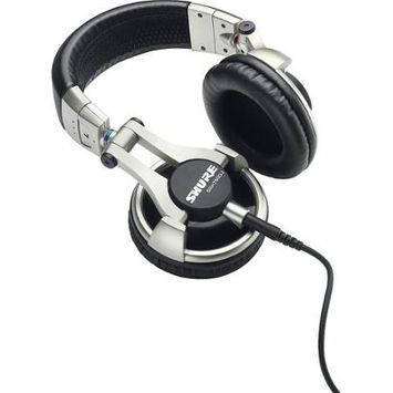 Shure SRH750DJ Pro DJ Headphones, Closed-Back