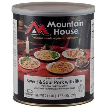 Mountain House Sweet And Sour Pork With Rice Can