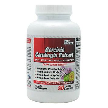 Top Secret Nutrition Garcinia Cambogia Extract With Positive Mood Support - 90 V