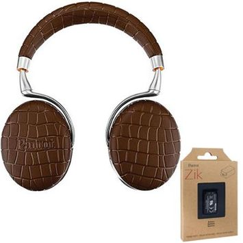 Parrot Zik 3 Wireless Noise Cancelling Touch Control Bluetooth Headphones Brwn +Battery
