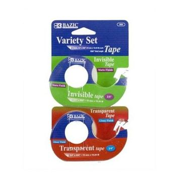 BAZIC - Invisible & Transparent Tape Variety Set
