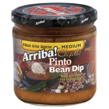 Arriba Salsa Chipotle Bean 16 OZ (Pack of 6)