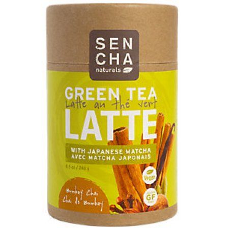 Sen Cha Naturals Bombay Chai Green Tea Latte with Matcha