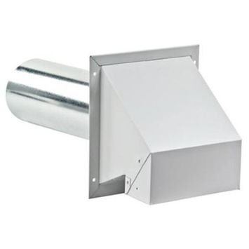 Lambro 4-in x 4-ft Galvanized Flex Duct L370