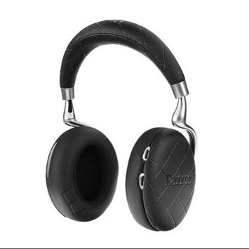 Parrot Zik 3 Wireless Bluetooth Headphones with Jawbone In-Line Microphone, Black Overstitched