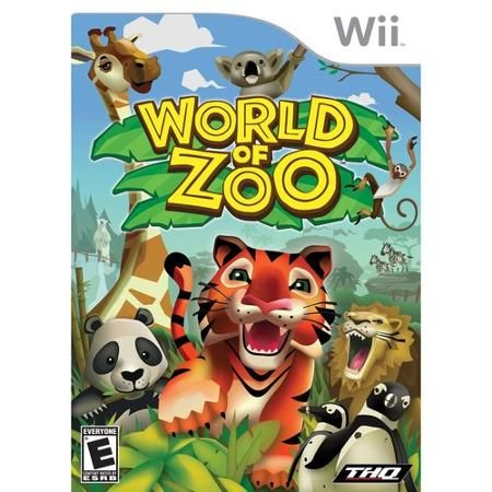 Thq World of Zoo (Nintendo Wii)