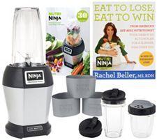 Nutri Ninja 1000 Watt Pro Blender w/ Nutrition Guide & Recipes