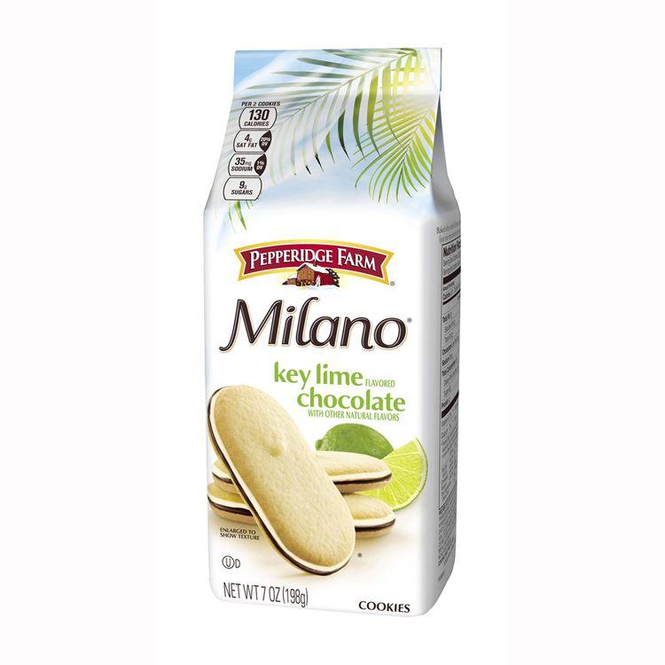 Pepperidge Farm® Milano® Key Lime Flavored Chocolate Cookies
