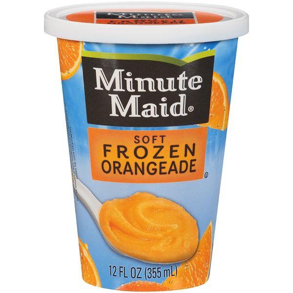 Minute Maid® Soft Frozen Orangeade