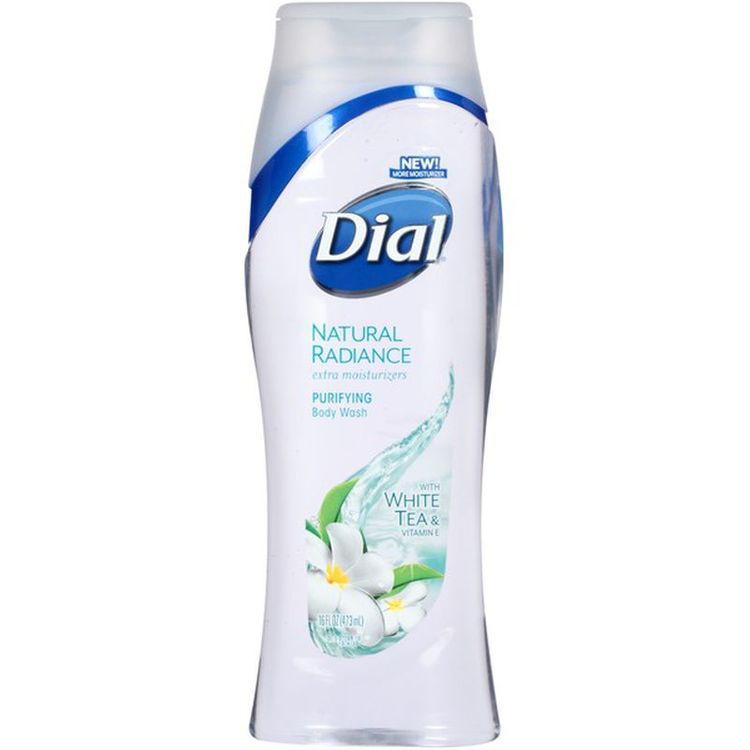 Dial® Natural Radiance with White Tea Body Wash