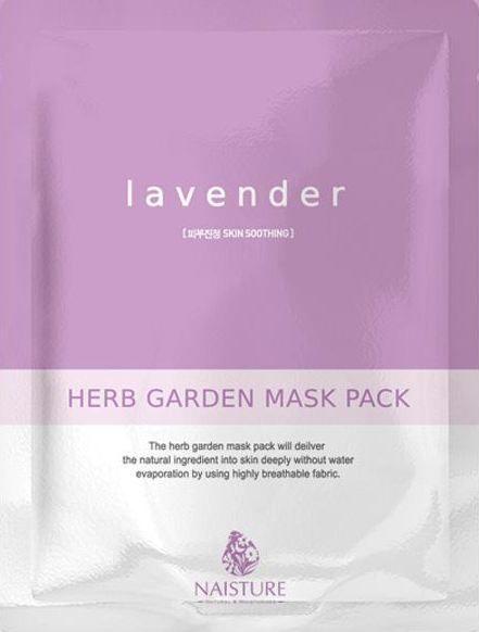 NAISTURE Lavender Herb Garden Mask Pack